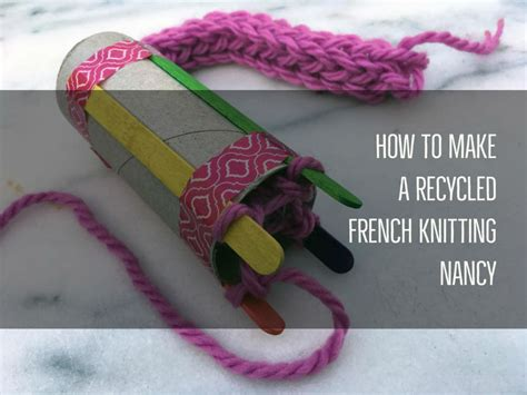 how to fix knitting how to make a recycled knitting nancy kite days