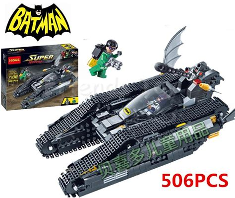 Decool 7108 Heroes Batman The Bat Tank Dc Comics popular lego batman 7108 buy cheap lego batman 7108 lots from china lego batman 7108 suppliers