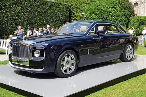 roll royce rouce rolls royce sweptail probably the most expensive car
