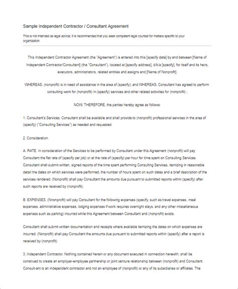 subcontractors agreement template 15 free subcontractor agreement templates word pdf doc