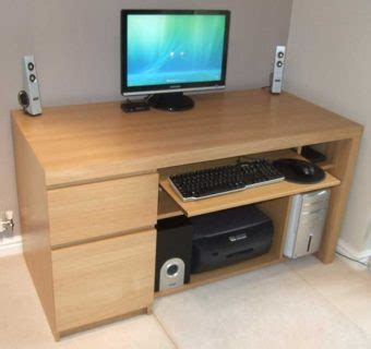 Plywood Computer Desk Reasons Why Wood Computer Desk Styles Are Best Atzine