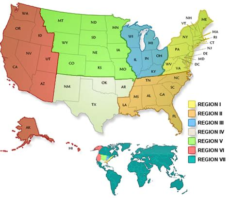 united states sections regions and sections the american institute of