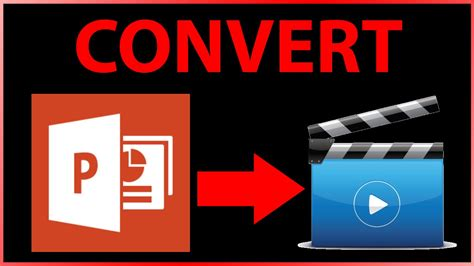 tutorial powerpoint to video how to convert powerpoint file ppt pptx to mp4 video