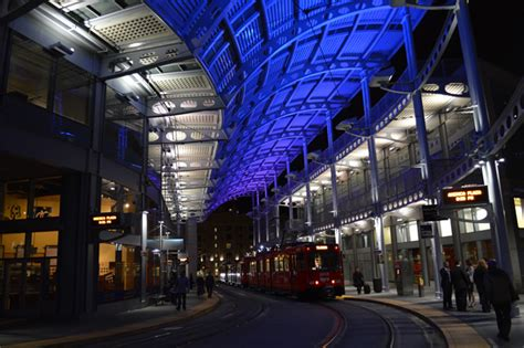 commercial lighting san diego lighting designers relit san diego trolley station with