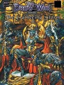 a gathering of evil books the drow war book 1 the gathering mongoose