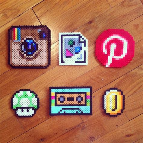 cool melty bead designs some more of my perler bead creations martin refsal
