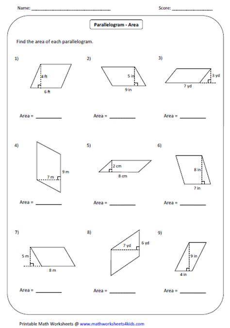 Interior Angles Of A Trapezium Quadrilateral Worksheets