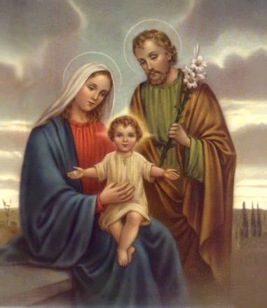 the greatest blended family jesus mary and joseph