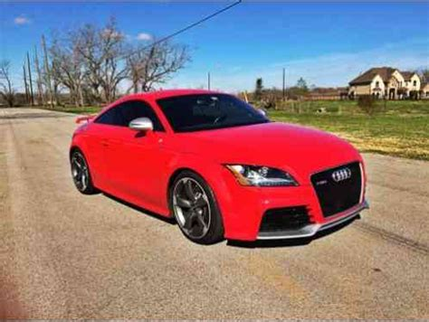 audi tt rs coupe 2 door 2013 i am the second owner of