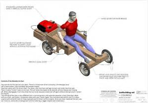 free go kart plans how to build a wooden go kart powered