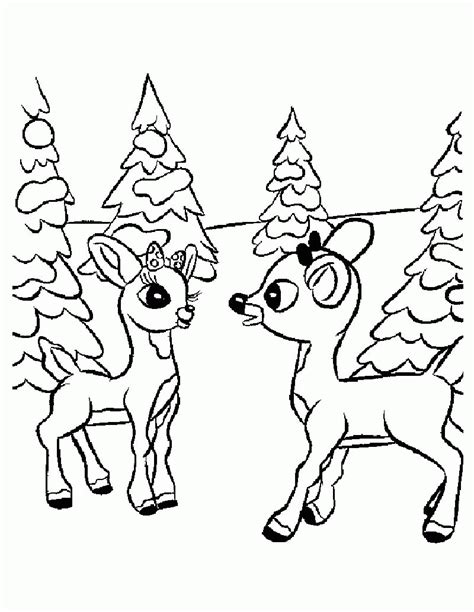 coloring pages rudolf coloring home