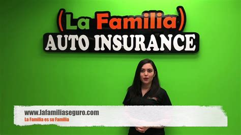 La Car Insurance by La Familia Auto Insurance Liability Coverage San Antonio