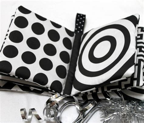black and white picture books for babies high contrast abstract shapes for baby fabric debsch