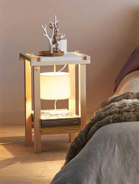 Fabriquer Table De Chevet by Fabriquer Table Chevet Maison Design Edfos