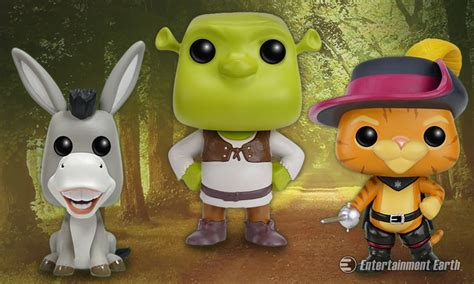 Funko Pop Vinyl Shrek once upon another time there were shrek pop vinyl figures