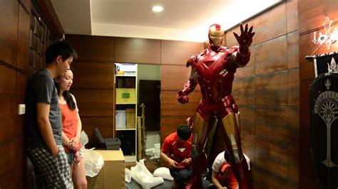 iron man mark vi assemble party youtube
