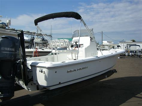 sea hunt boats linkedin 2015 used sea hunt bx22br center console fishing boat for