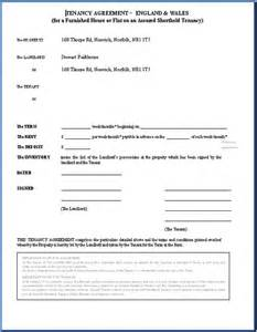 Landlord Agreement Letter Printable Sle Rental Agreement Doc Form Real Estate Forms Word Real Estate