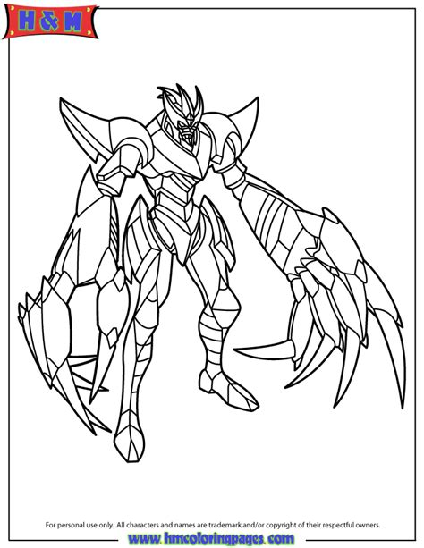 bakugan coloring pages bakugan fear ripper coloring page h m coloring pages