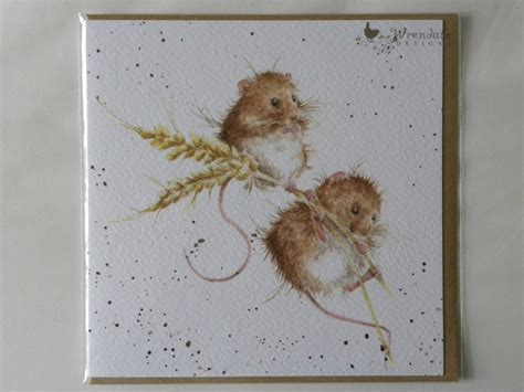 Design Your Own Kitchen Table wrendale designs the harvesters harvest mice