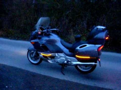 Navi Stripe Orange bmw k1200lt led stripes on the wings and on the top