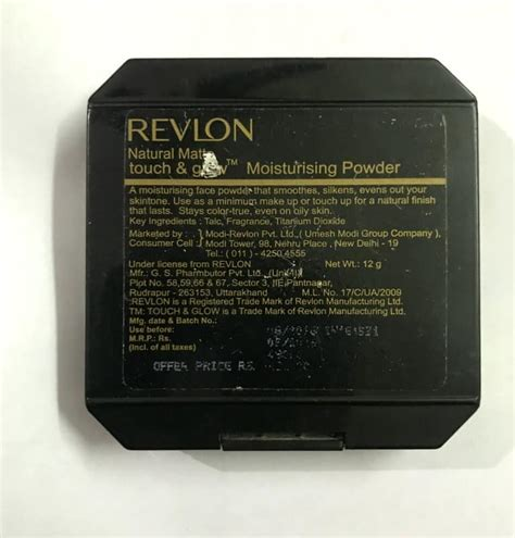 Revlon Compact Powder revlon touch and glow best compact powder