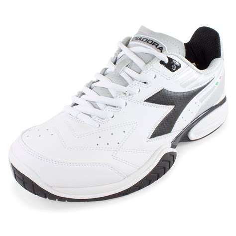 black and white sneakers mens diadora s s tech ii tennis shoes white and black ebay