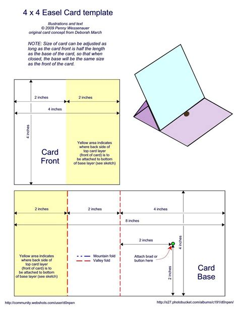 card folding templates free addicted to paper easel card