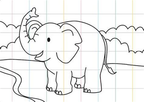 tutorial menggambar gajah membuat anak percaya diri saat menggambar cikal aksara
