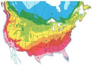 canada zone map planting zones america