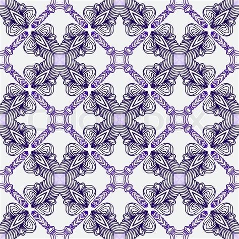 echo pattern in spanish luxury pattern with elegant spanish motifs stock vector
