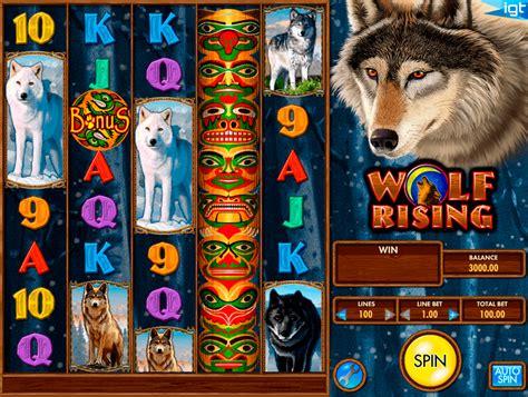 play wolf rising  slot igt casino slots