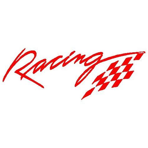 Rennsport Aufkleber by Car Racing Decal Sticker For Sports Ebay