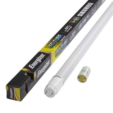 led tube light wattage energizer 18w 4ft t8 led tube 4000k s8912 light shop