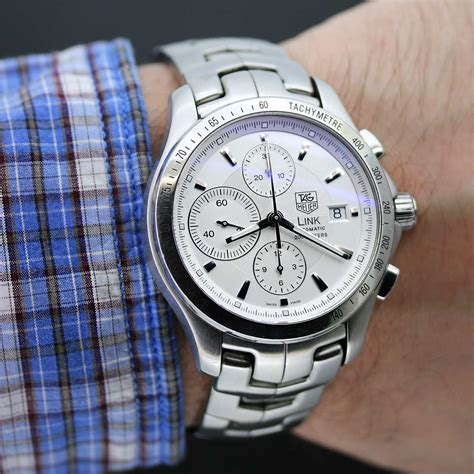 Tag Heuer Automatic tag heuer link chronograph automatic ref cjf2111