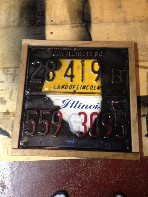 Simple License Plate Project Crafts