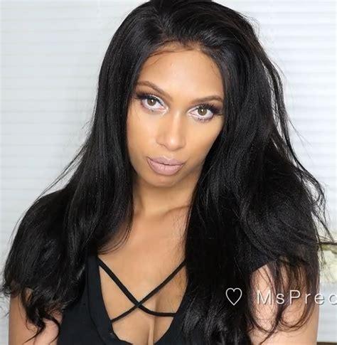 light in the box brazilian hair reviews light yaki virgin brazilian hair 360 lace wigs 180 density