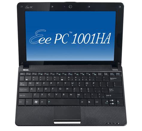 Notebook Asus Eee Pc1001 Ha asus eee pc 1001ha economico pi 249 di un netbook notebook italia