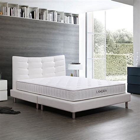Comfort Coil Mattress Reviews by Langria Comfort 8 Inch Independently Encased Pocket Coil