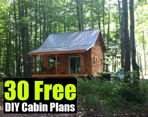 Diy Cabin by 30 Free Diy Cabin Plans Shtf Prepping Central