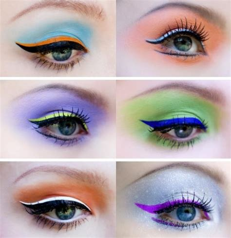 colorful eyeliner colorful eyeliner things