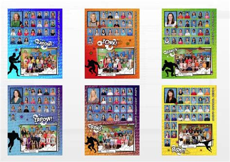 themes choices in learning and books 25 best ideas about comic book yearbook on