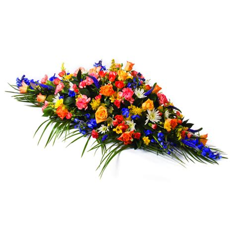 Sprei Flower mix flower coffin spray lodge brothers funeral directors