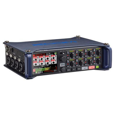 zoom sound zoom f8 multitrack field recorder zoom