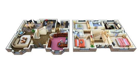 Home Design 3d Two Floors 3d Home Floor Plan Designs Android Apps On Google Play