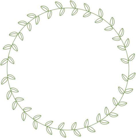 Circle Leaf Border Google Search Handlettering Prompts Leaf Border Template