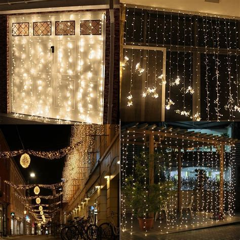 Amars Safe Voltage Bedroom String Led Curtain Lights Window Lights Indoor