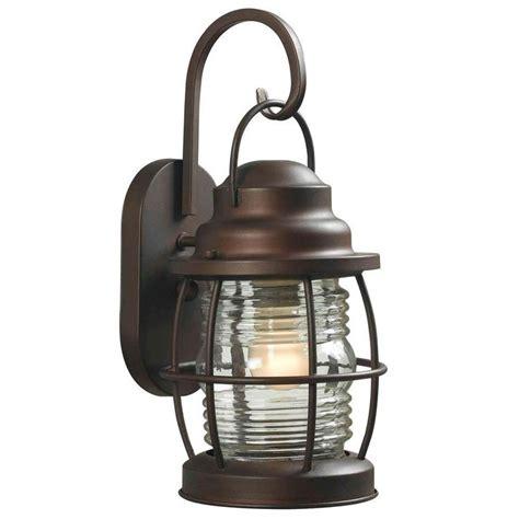 Copper Outdoor Lighting by Harbor 1 Light Medium Outdoor Copper Wall Lantern