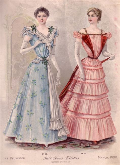 victorian design clothes free victorian art designs fashion plates from 1850 1899