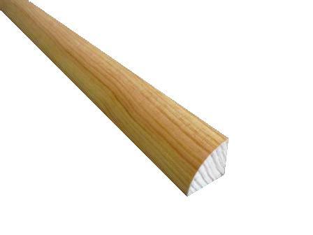 étagère quart de rond 5 quarts de rond en pin 2400x10x10 mm idea bois nicolas
